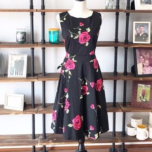 Women's Floral Dress Large roses | EUC | large